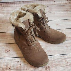 Beartraps faux fur lined winter bootie